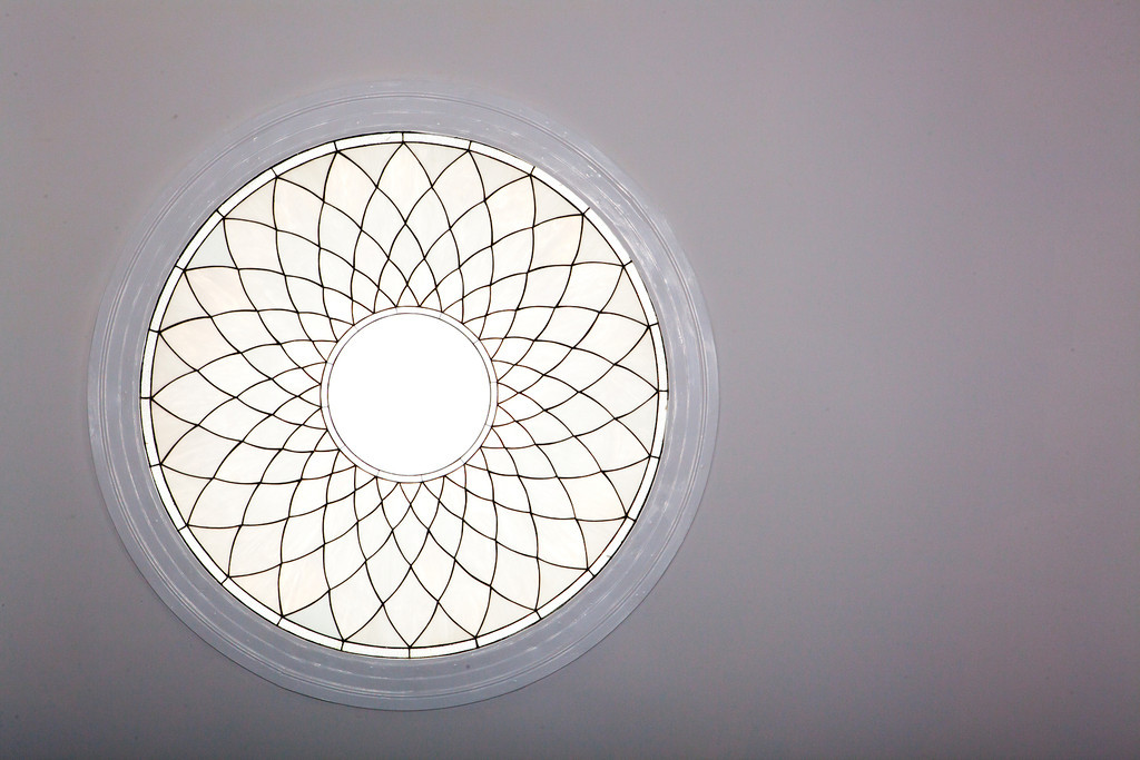 skylight, window, art, glasswork, design, light, natural light