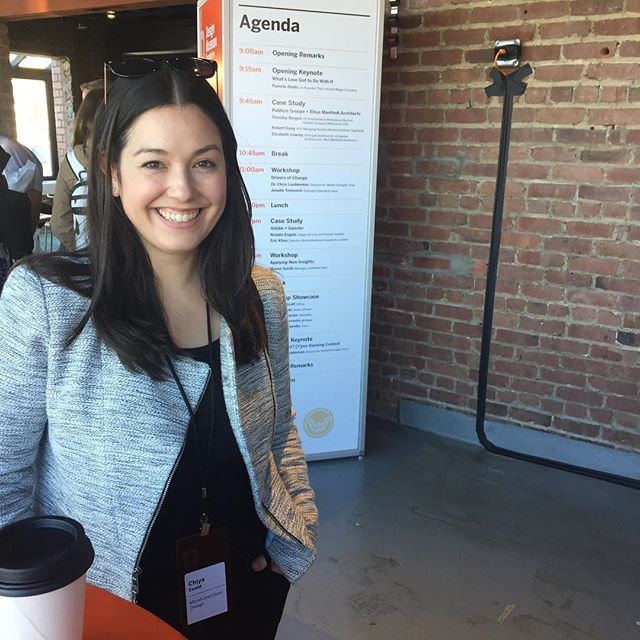 Having a great day at the Workplace Innovation Summit! Great event @designmuseumsf