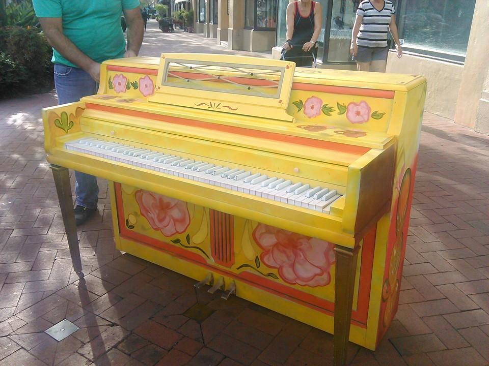 pianos en estado -