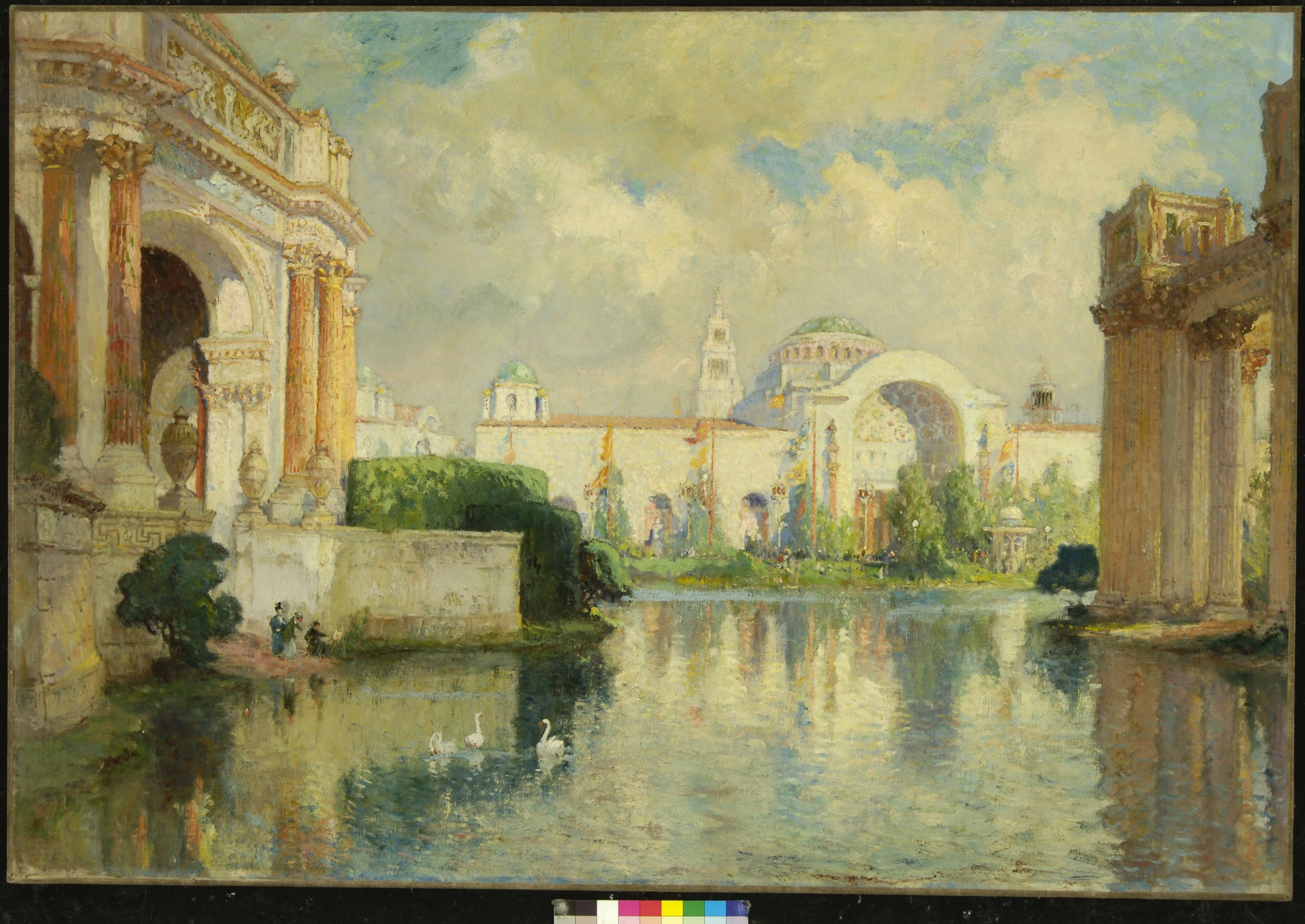 Colin Campbell COOPER   Panama-Pacific Exposition Building   c. 1915