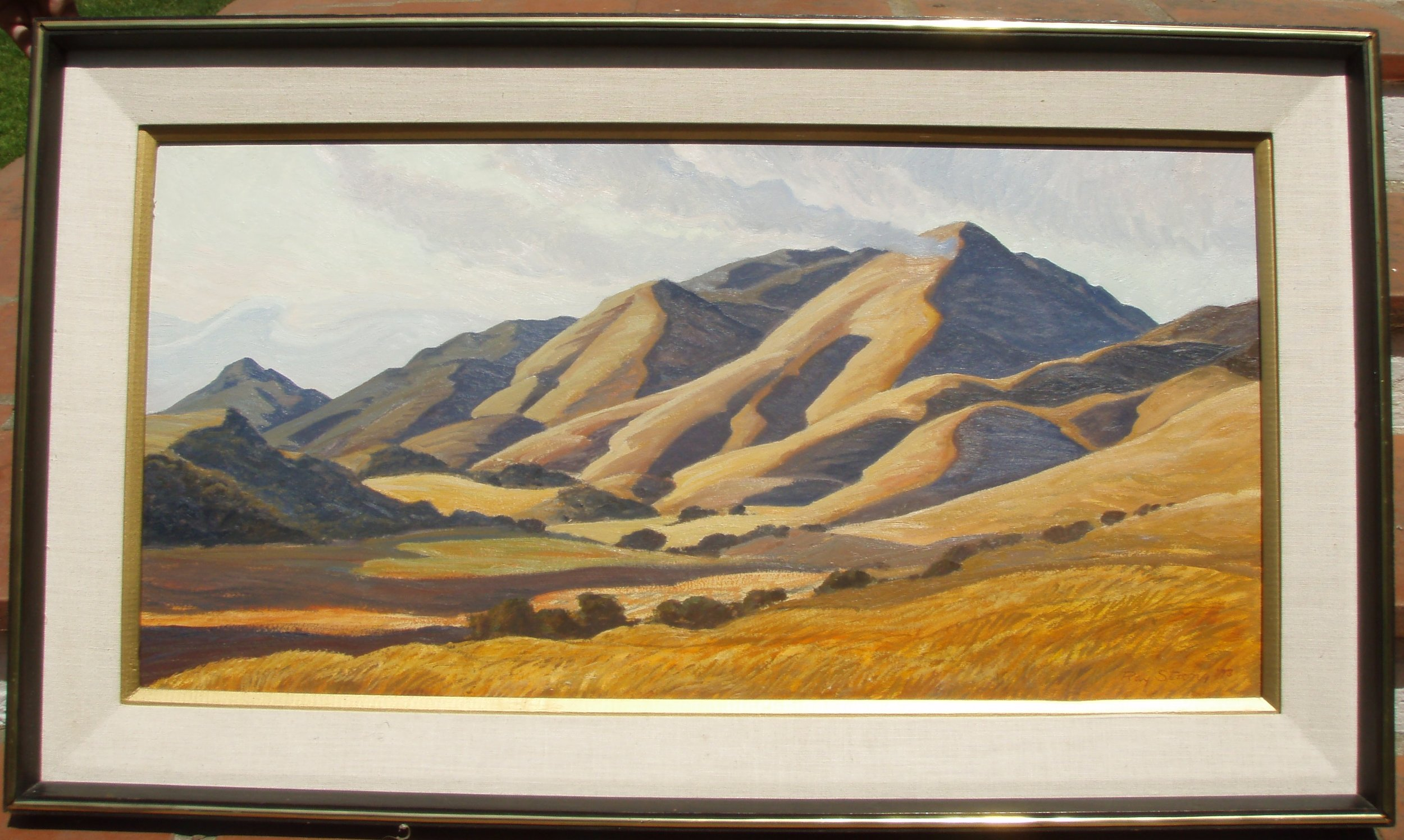 Ray STRONG   California Golden Hills   1973