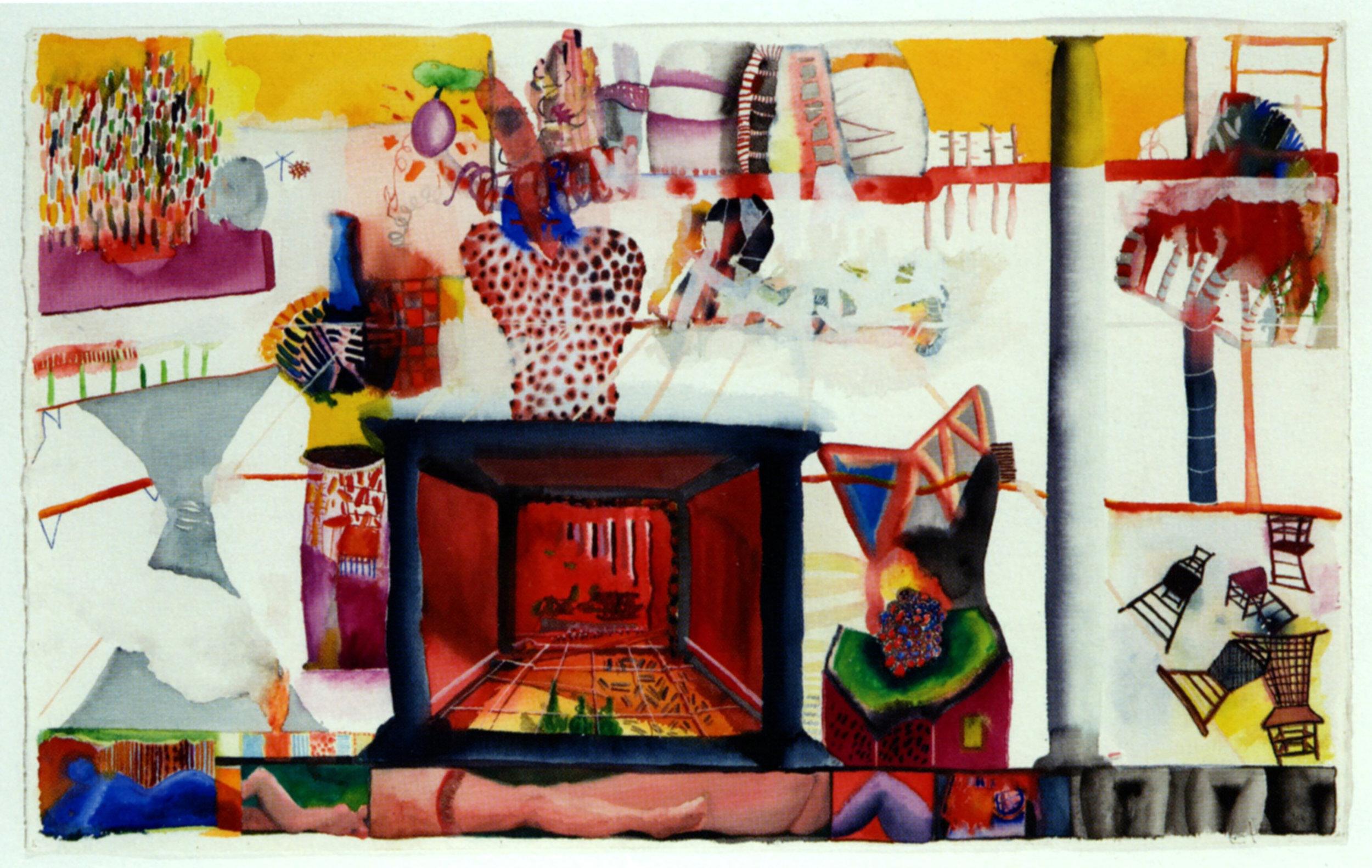 Ken HENDRICKSEN   Untitled (#1 Inner Chatauqua Series)   1981