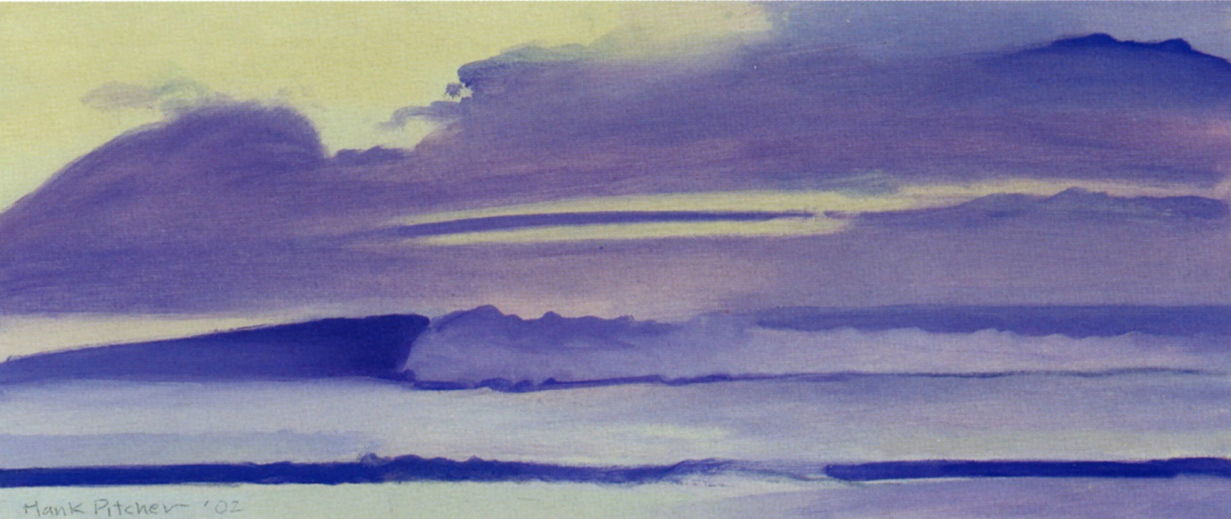 Hank PITCHER   Big Wave at Dawn   2004