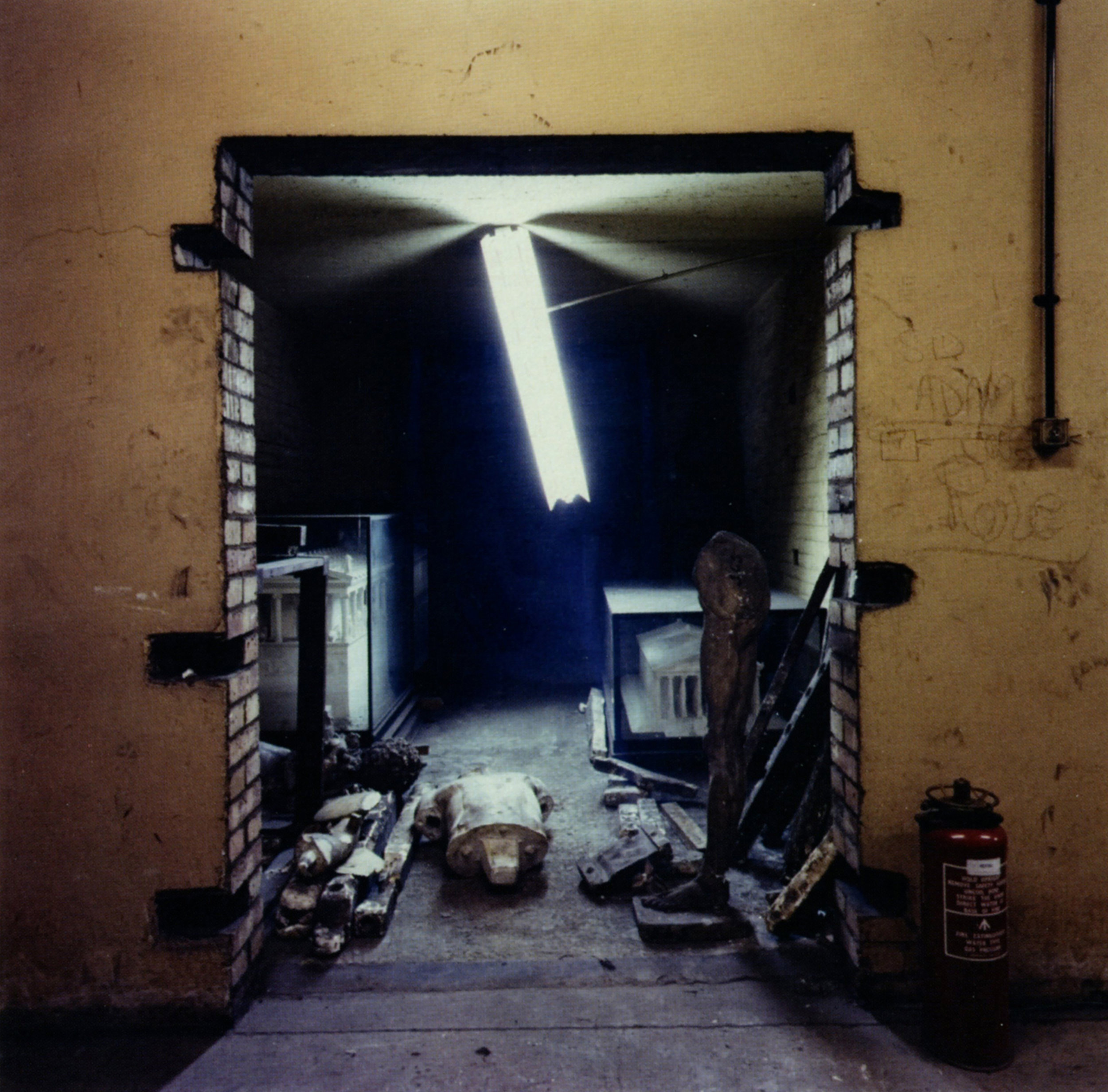 Richard ROSS   Basement British Museum, Shepardness Walk London   1992