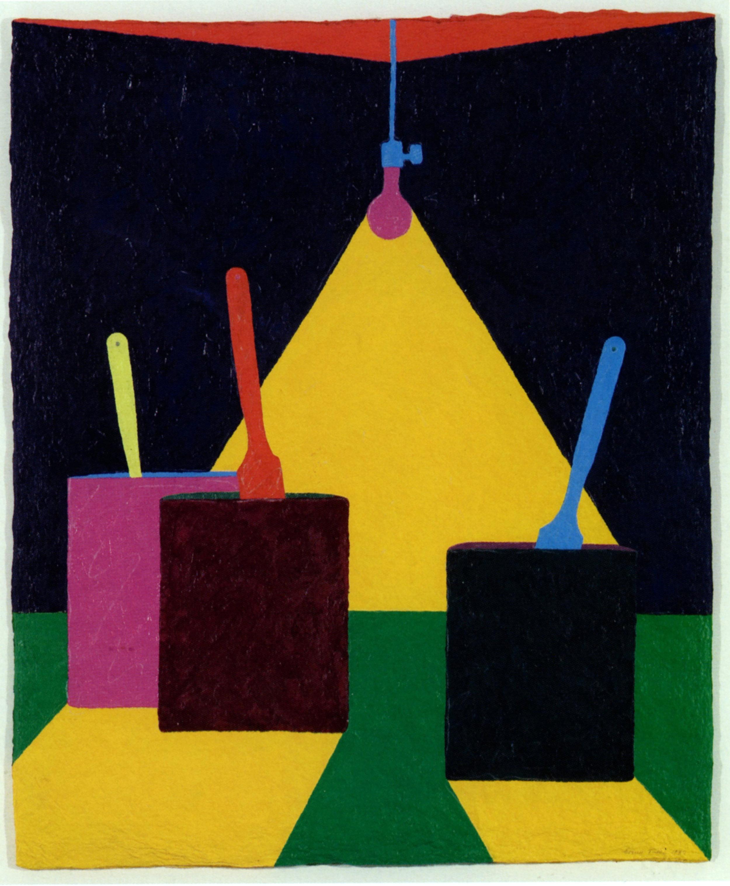 Garner TULLIS   The Artist Saw the Light   1980