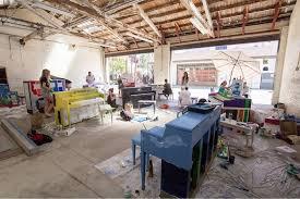 The  Community Arts Workshop  in Santa Barbara is a collaboration between the City of Santa Barbara and the Santa Barbara Arts Collaborative.
