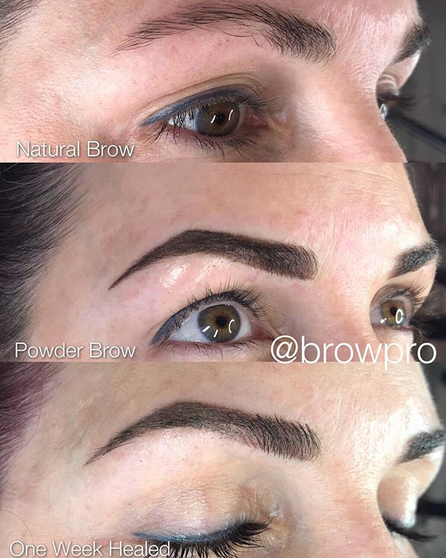 👋🏼 guys!! I'm sorry I've been so MIA lately! Lots happening & lots to come! Going to be catching up on before & afters this week and maybe even filling you in on some personal & business news! 🙌🏼BUT for now FEAST your eyes on this amazing transformation! The 💥 power of the powdered ombré brow 🤯😍