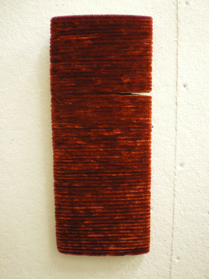 Red Yarn Wound Board