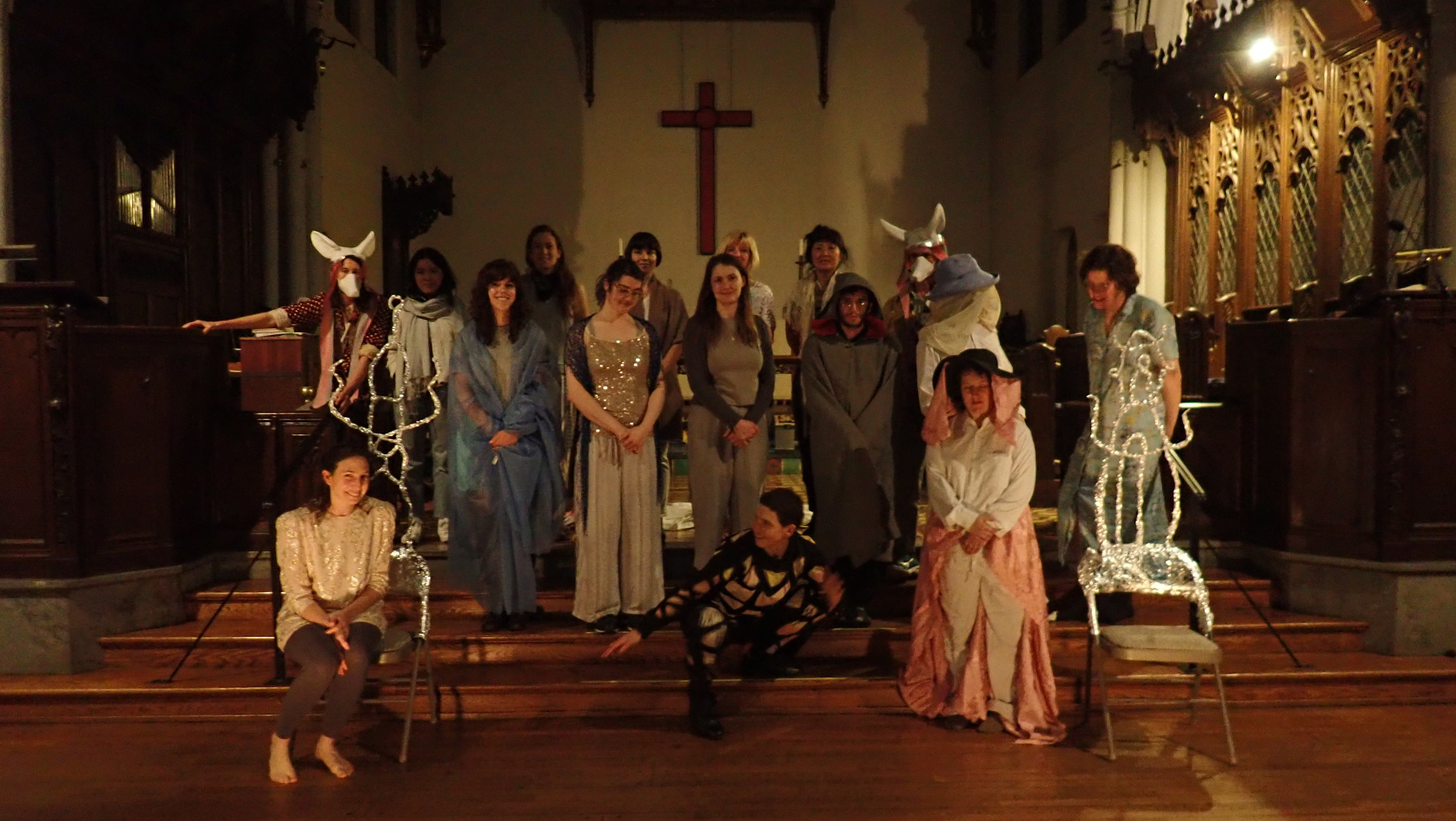 Sunday, 4/7/19 - singer in the Fog Choir in HELEN RIDES IV, by Amanda Friedman. All Saints Episcopal Church, NY