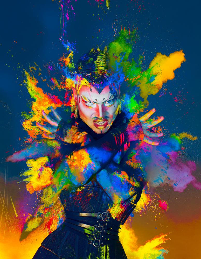 Phanta Drag queen explosion artist by toronto commercial fashion photographer justin atkins.jpg.jpg.jpg.jpg
