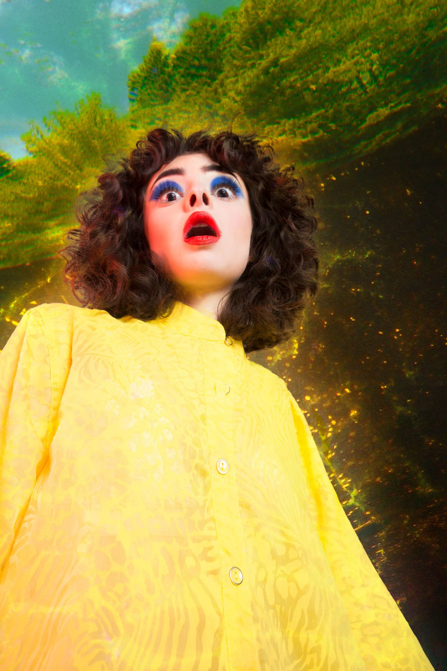 attack of the 50 foot woman yellow grow by commercial fashion artist photographer justin atkins.jpg.jpg.jpg
