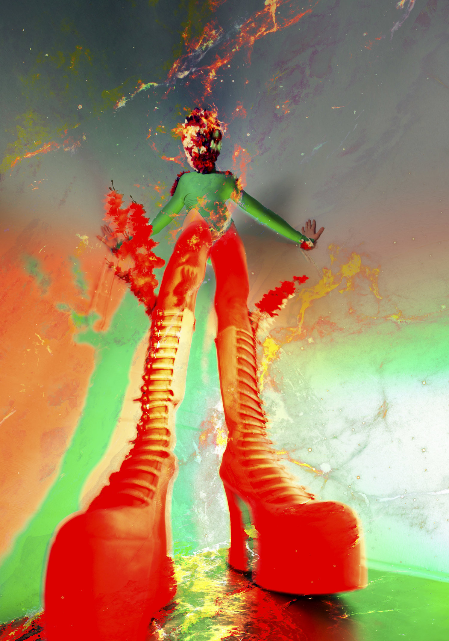 Club Kid Kasper the Queer ghost boots by commercial fashion artist photographer justin atkins.jpg
