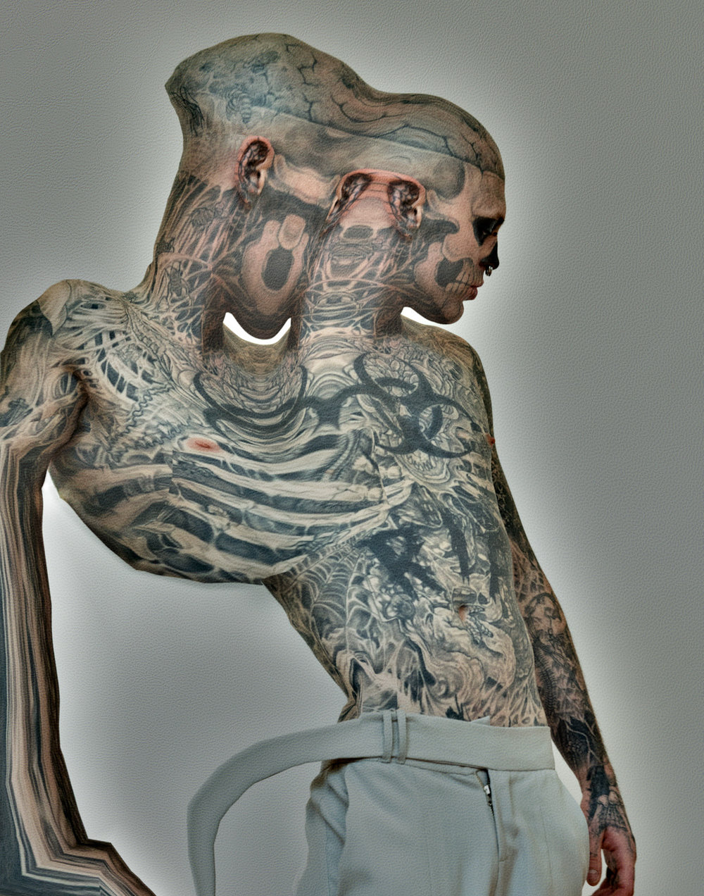 Zombie Boy warp skin Fashion Image by photographer Nelson Huang artist Justin Atkins.JPG.JPG