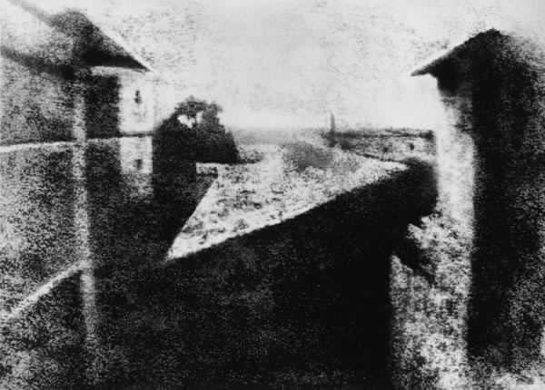 Joseph Nicéphore Niépce 1st known photograph