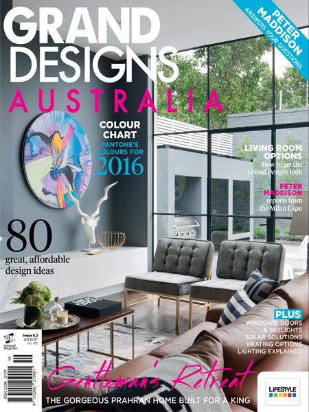 <b>GRAND DESIGNS AUSTRALIA</b><br><i>April 2016</i>