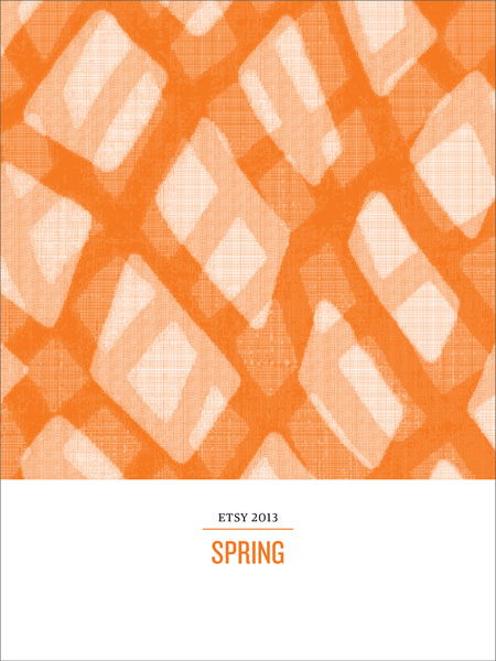 <b>ETSY SPRING LOOKBOOK</b><br><i>December 2013</i>