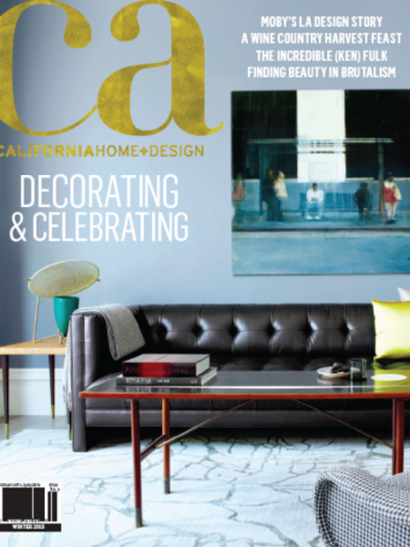 <b>CALIFORNIA HOME + DESIGN</b><br><i>December 2013</i>