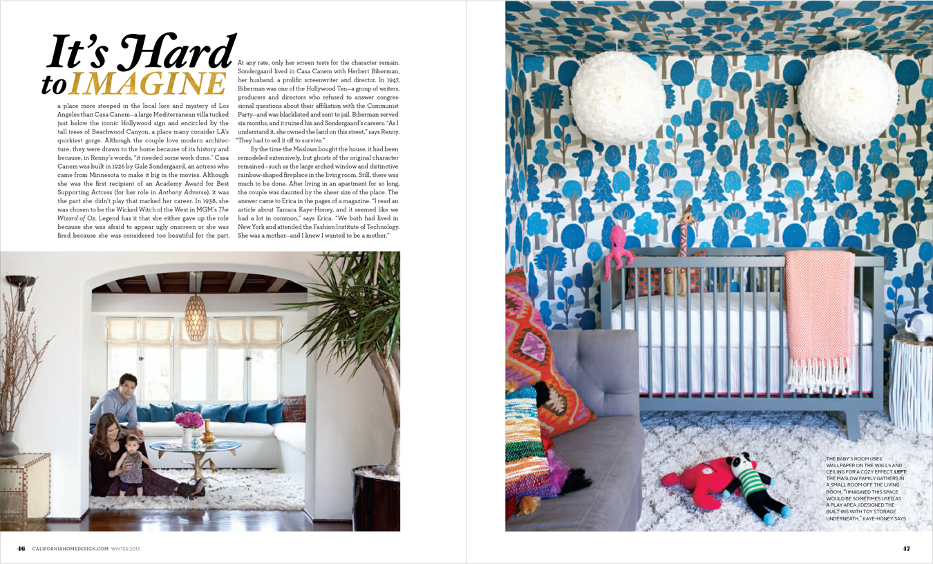 Aster + Quail: California Home + Design Feature