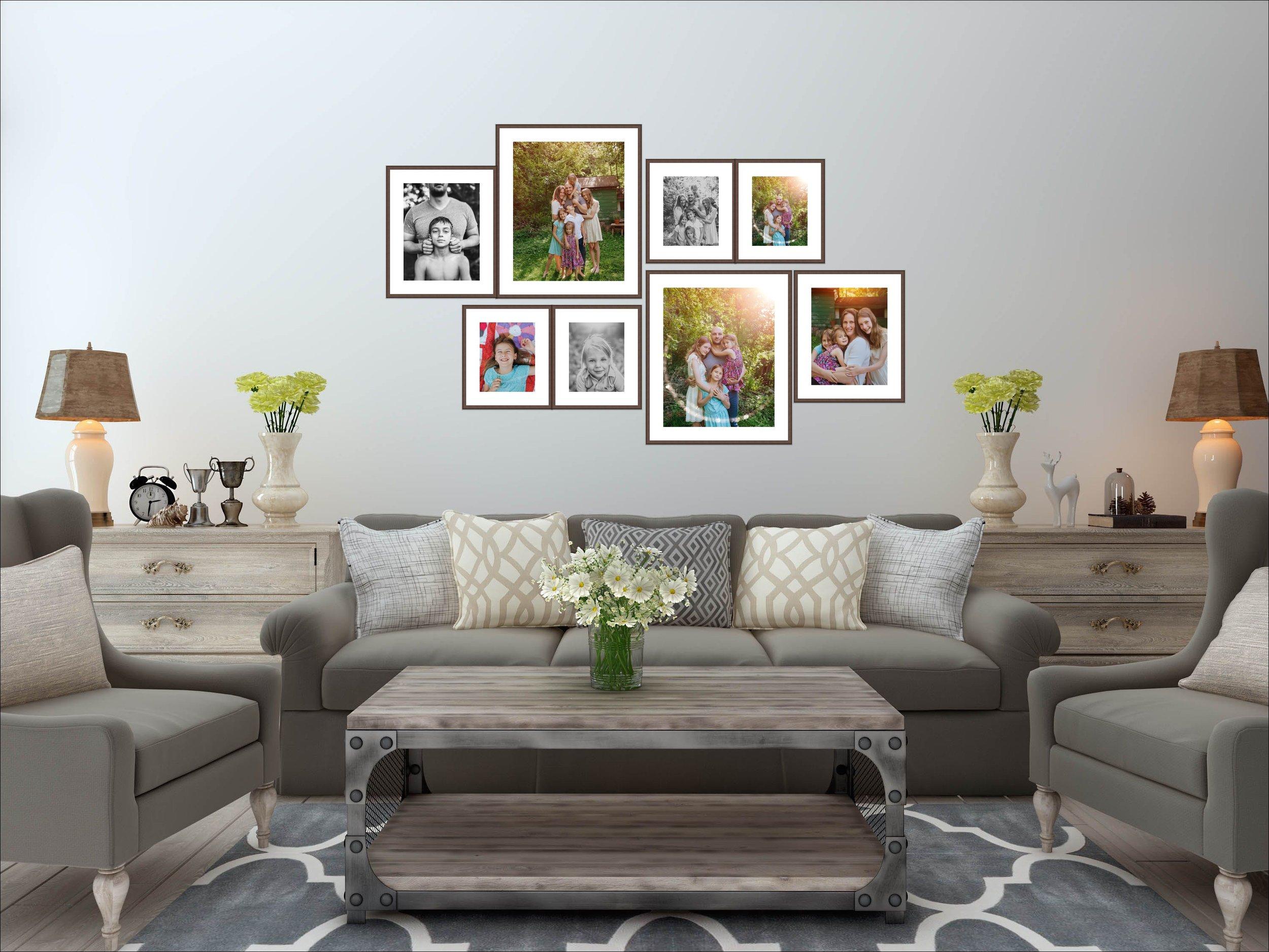 Printed Family Portraits