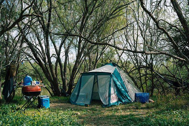 Got to have a proper campsite!