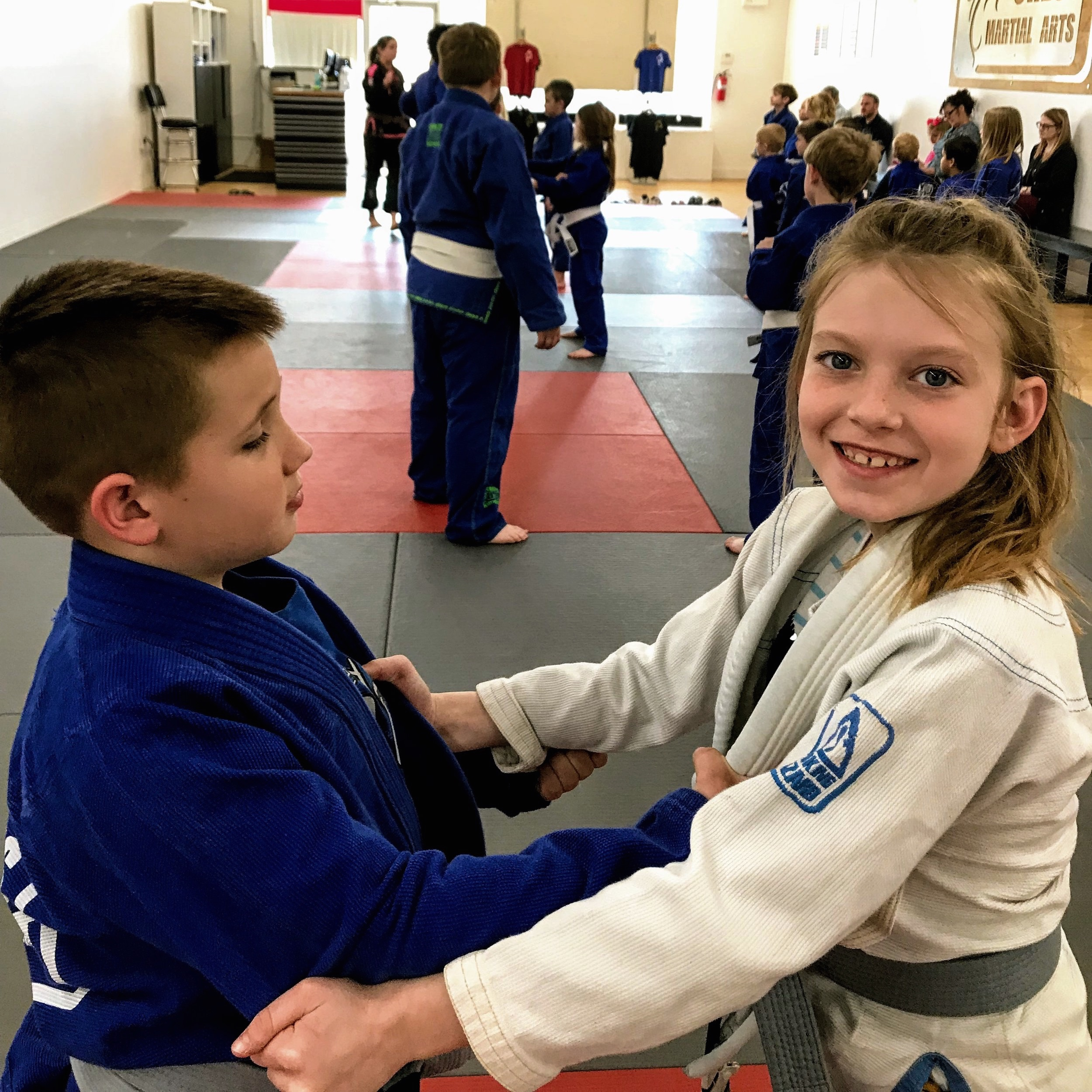 KIDS CLASSES - KARATE + BRAZILIAN JIU JITSU