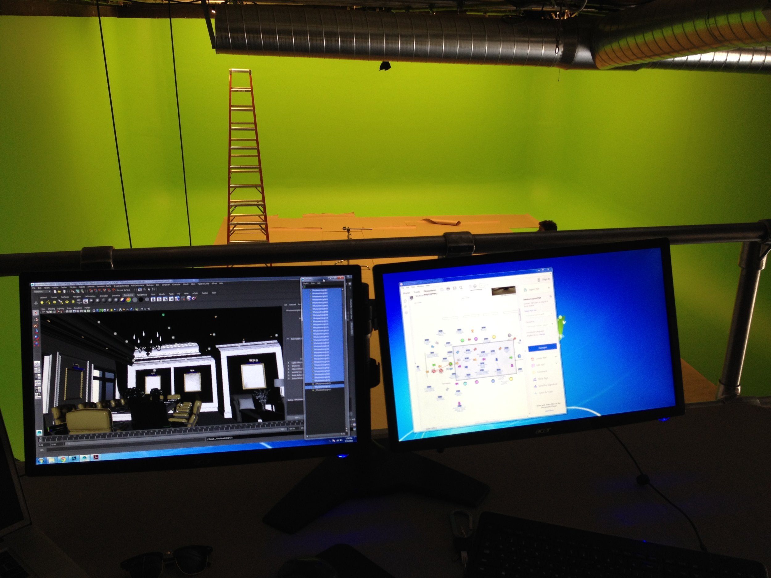 Light Setup and Calibration