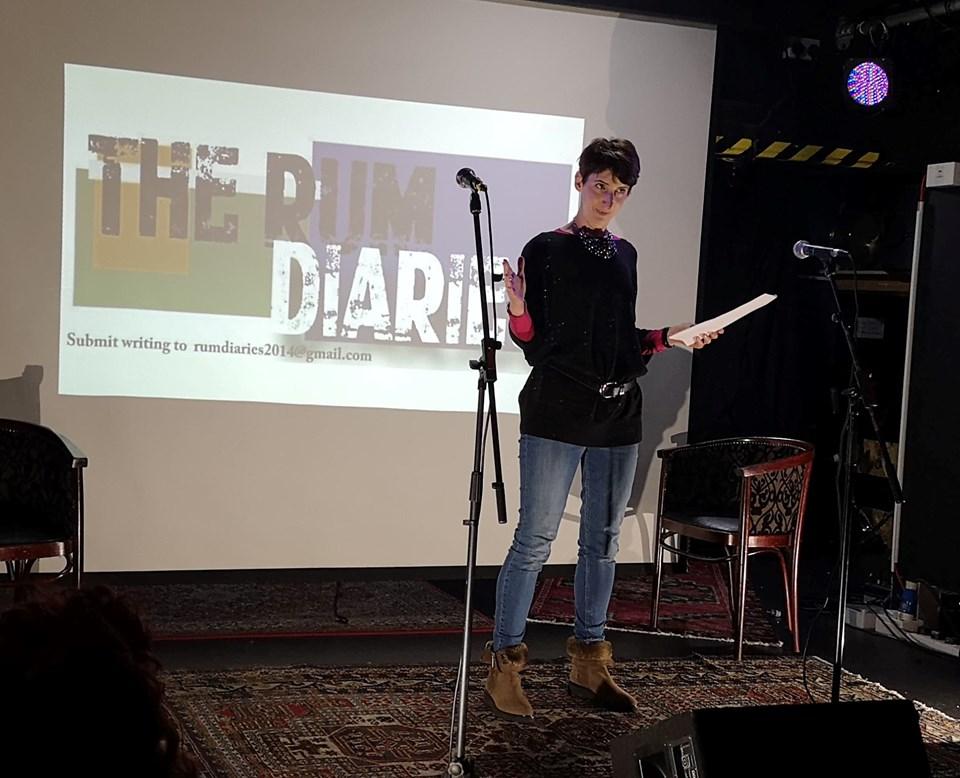 JOY, Strong Female Lead, Rum Diaries Presents, Glasgow, UK (Byrony Randall.)
