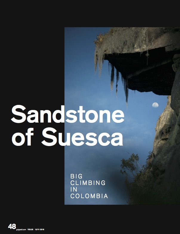 Suesca, Colombia - Gripped V20.05 October 2018