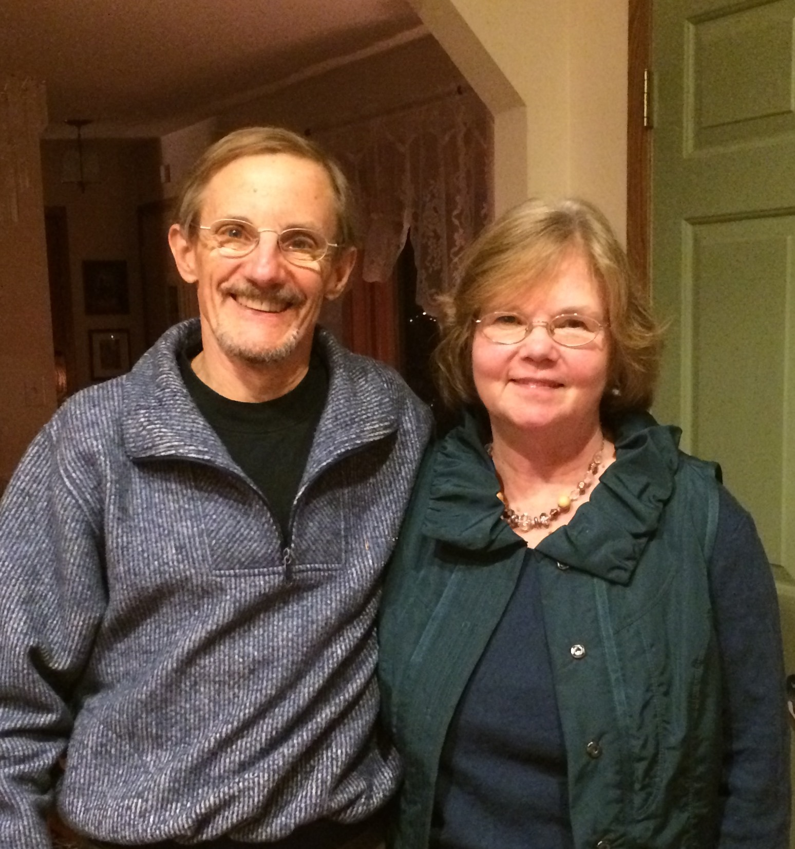 Diane and her husband Mike.