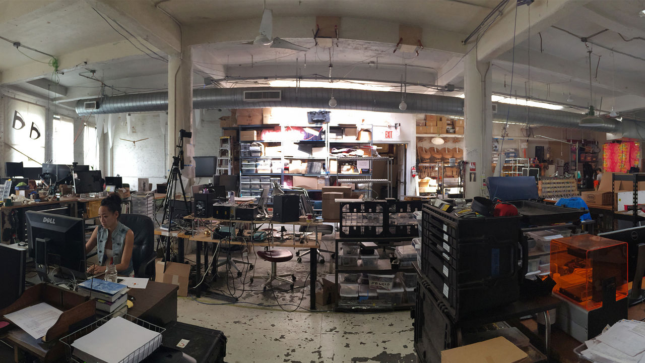 The Maker Space at Dark Matter Manufacturing Collective