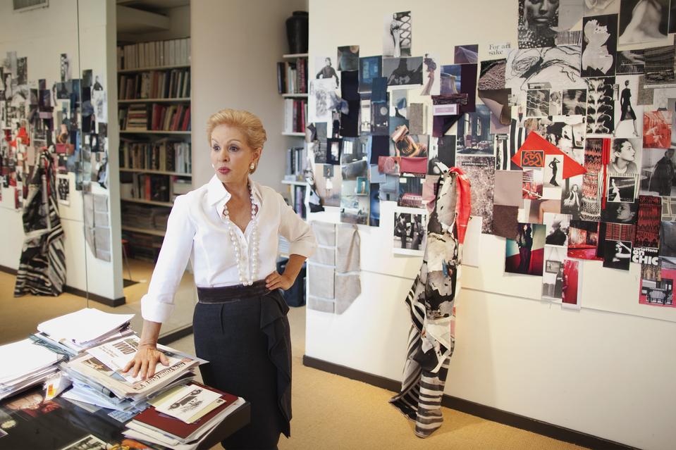 The Design Office of Carolina Herrera.