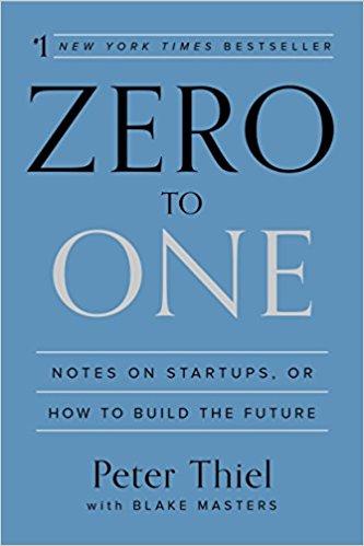 Zero to One, Peter Thiel