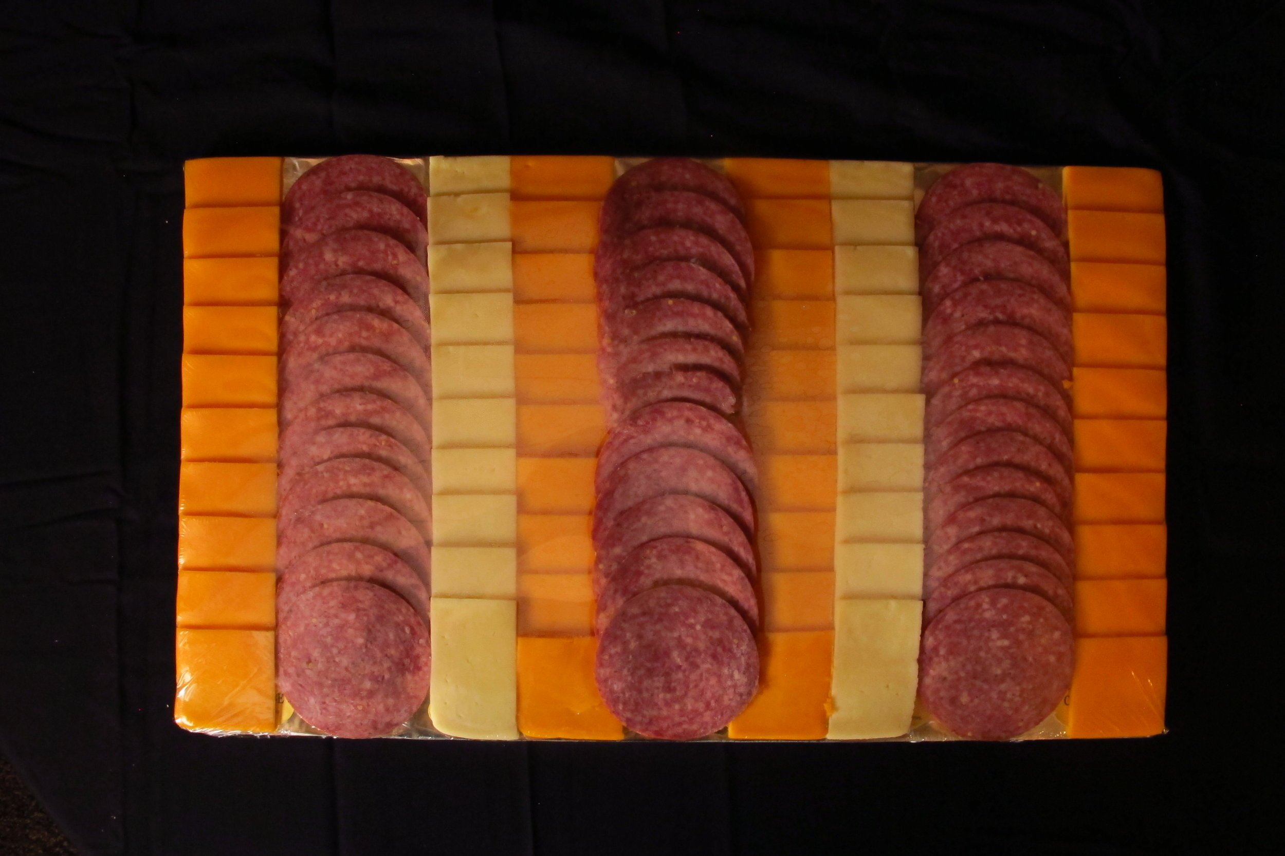 Small Special Order Cheese & Sausage Tray