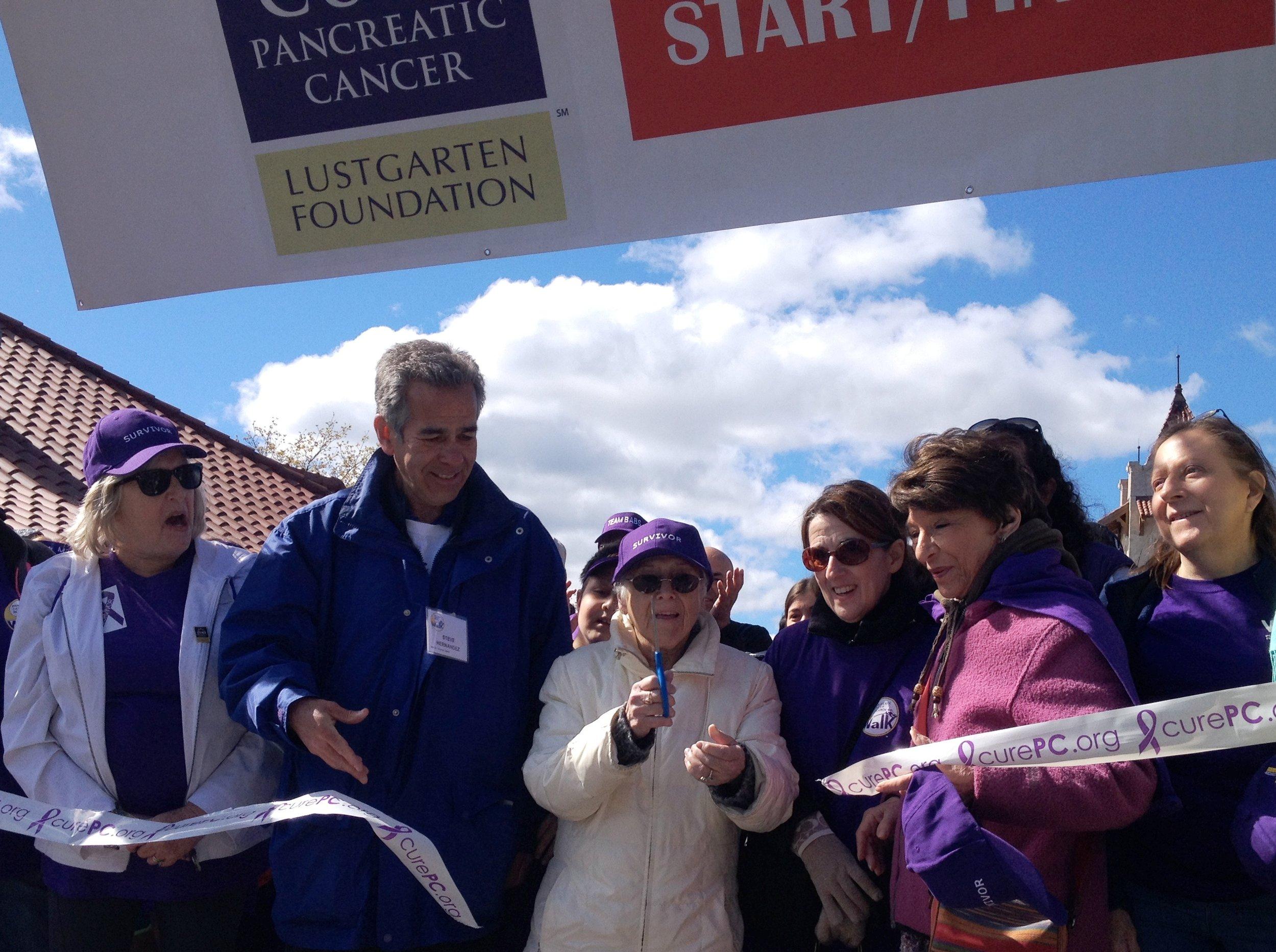 Cancer foundation 2015 walk