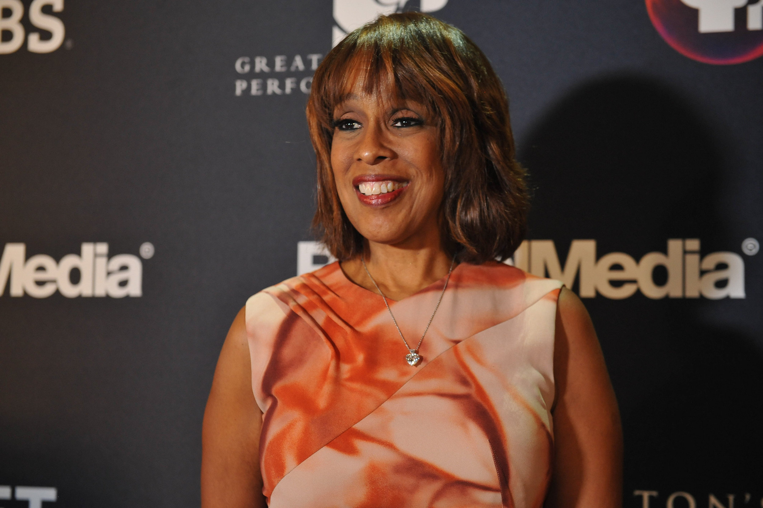 "CBS ""This Morning"" host and panel moderator Gayle King on the red carpet at the official screening of ""Hamilton's America"" at the Union Palace Theatre in Washington Heights.  ©Stephanie Berger"