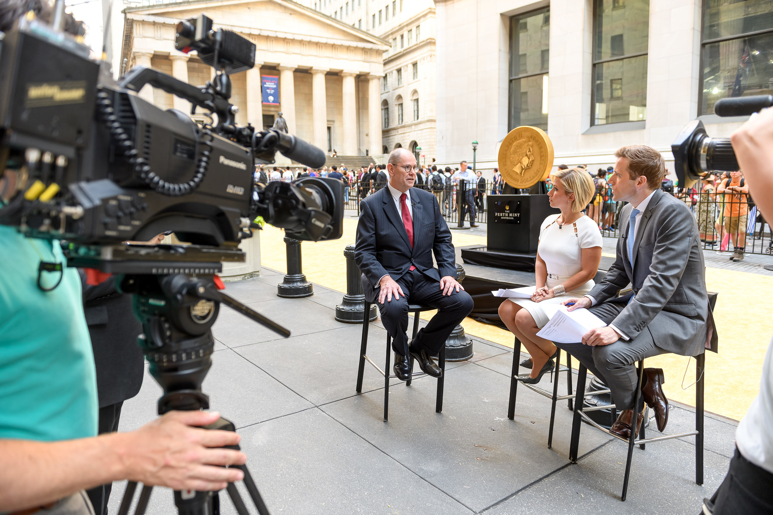 The Perth Mint CEO interviewed by CNBC Closing Bell to discuss the Perth Mint Physical Gold ETF.