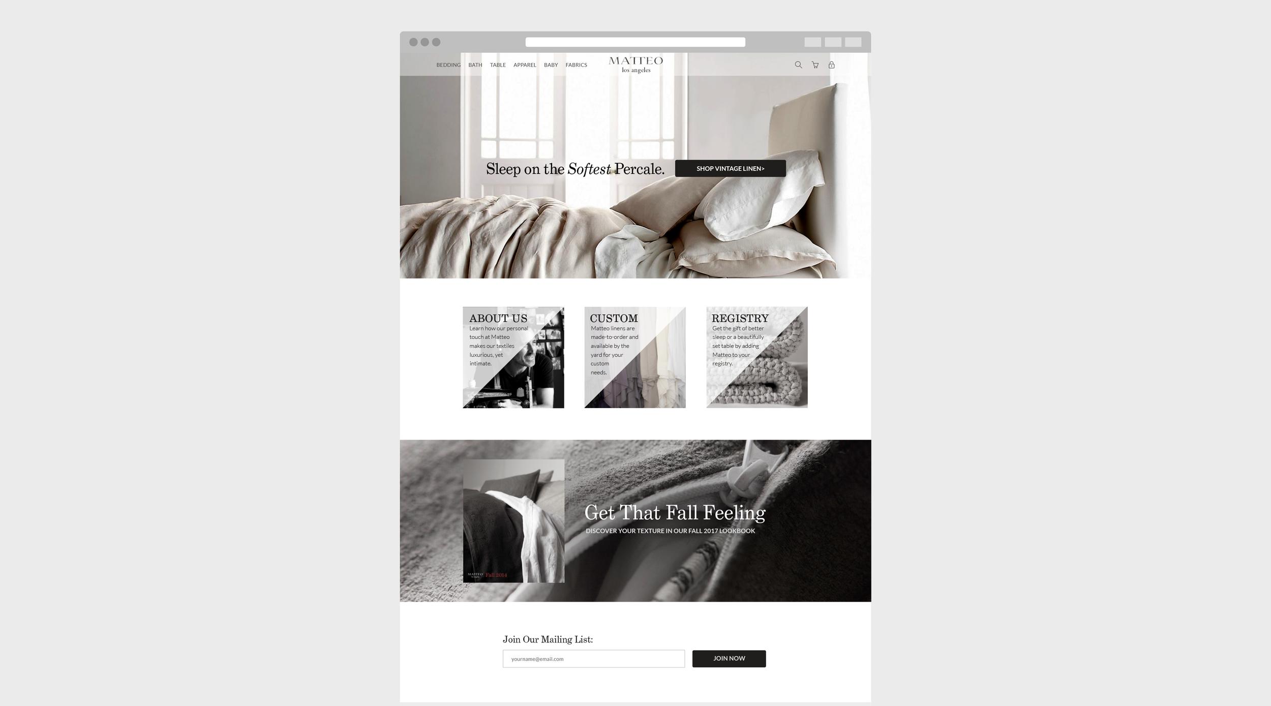 Matteo Homepage