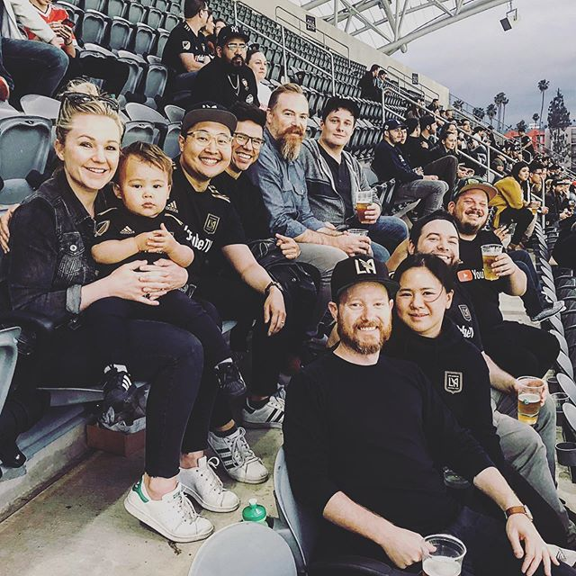 LAFC with the crew!