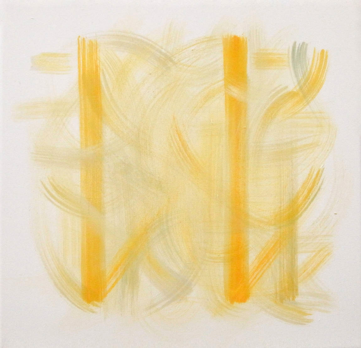 Meditative Structure - MS-I.014 – Releasing into Summer, Oil on Canvas (2012)