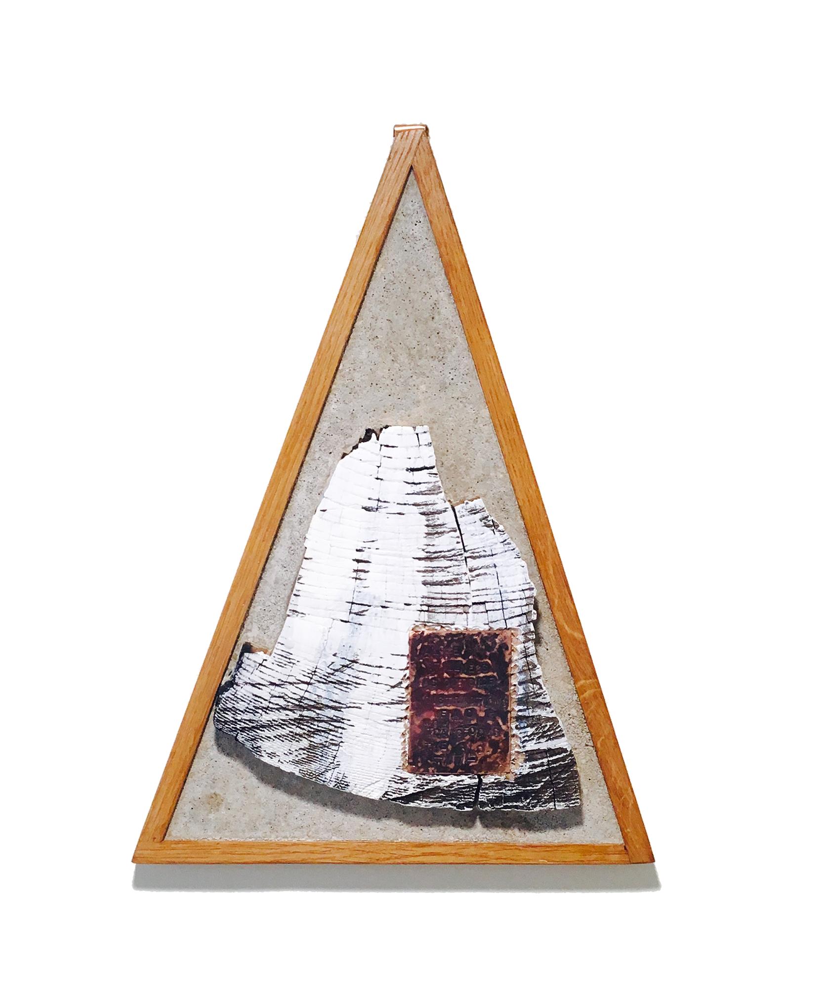 Meditative Structure - ArtofTrust.Paul, MixedMedia in Concrete (2018)