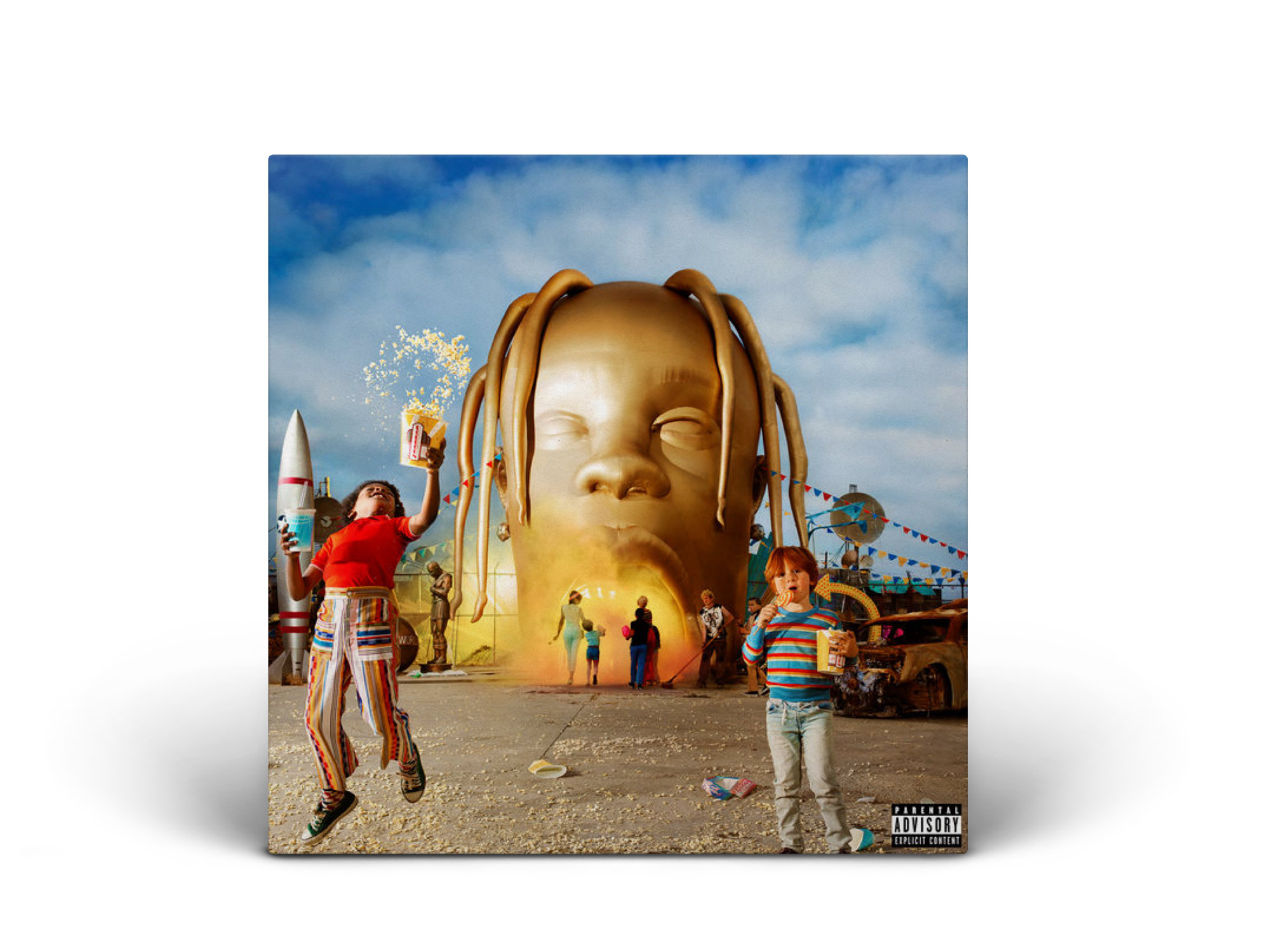 STOP TRYING TO BE GOD / Travis Scott - Best mesmerizing collective soundscape.