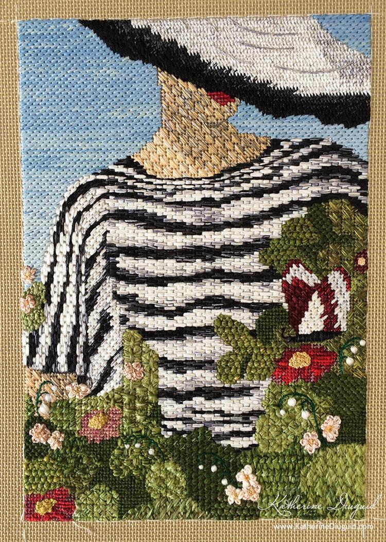 Vogue at Royal Ascot Canvaswork