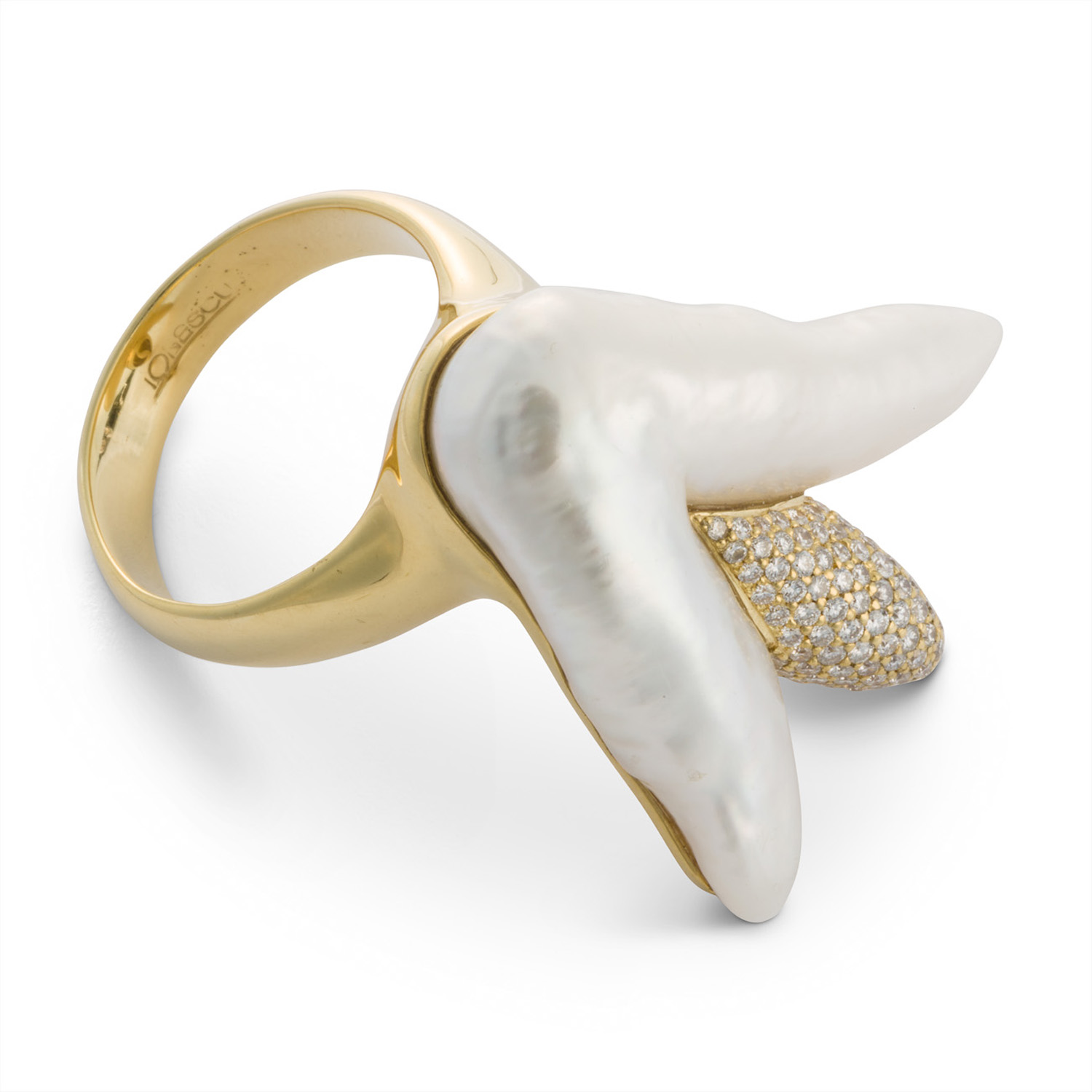 The Pearl Crown Ring
