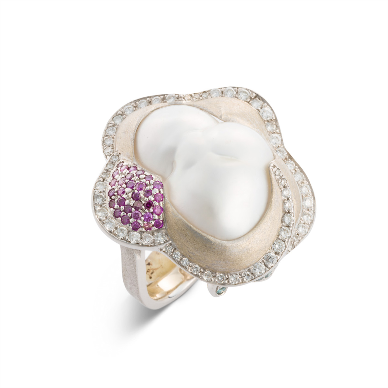 Baroque Flower Ring 2