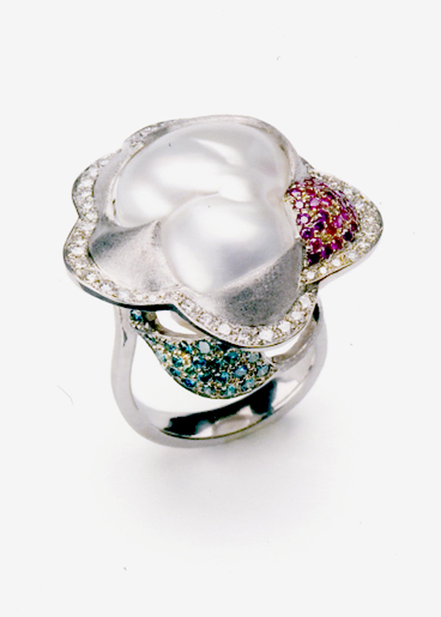 Baroque Flower Ring