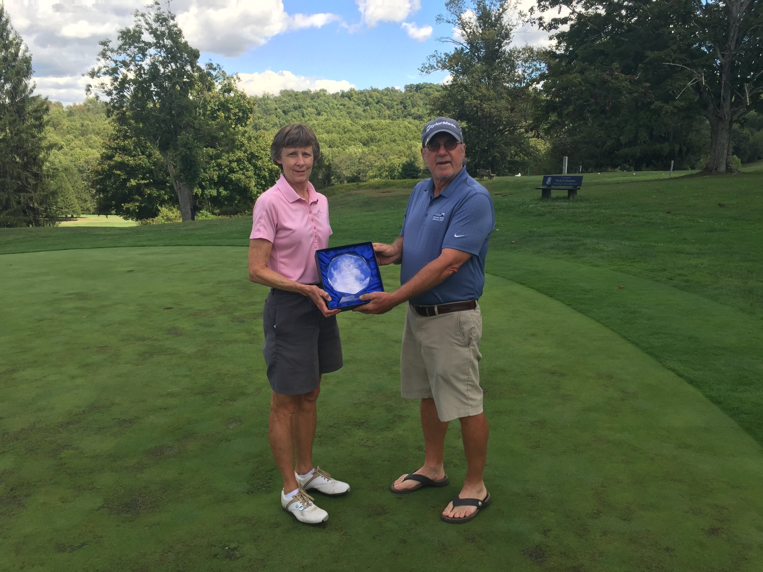Shelley Hyde wins the 2016 Women's Club Championship with a net 73-75.