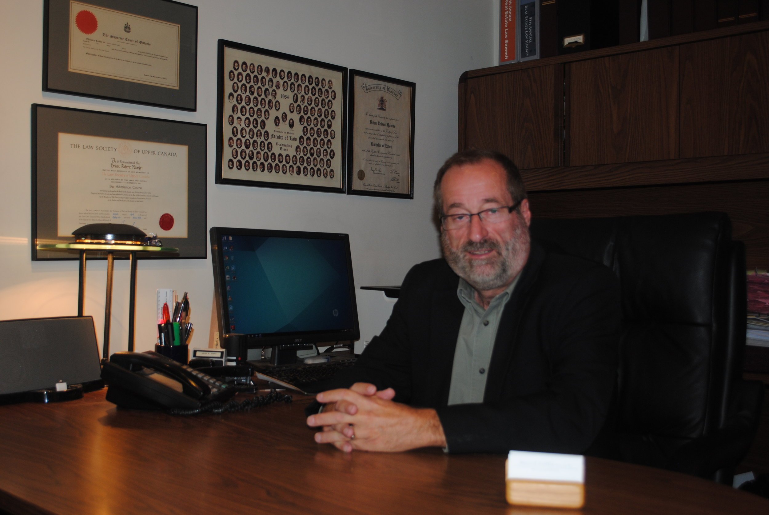 Brian Hawke - Community Lawyer assisting residents of the Durham Region since 1990