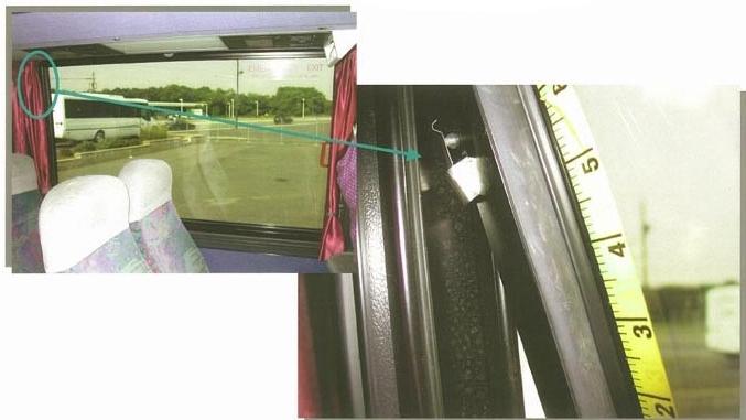 Motor Coach Window Sensors.