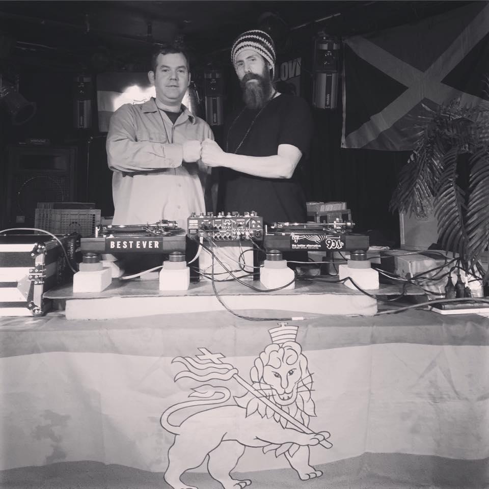 Left: DJs Big Dog and Jahson