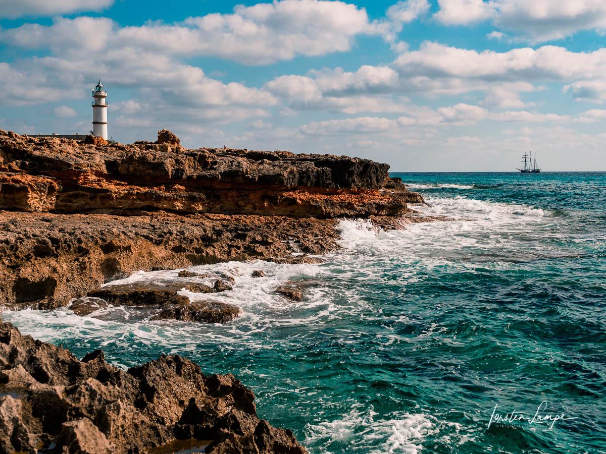 Cap de ses Salines lighthouse